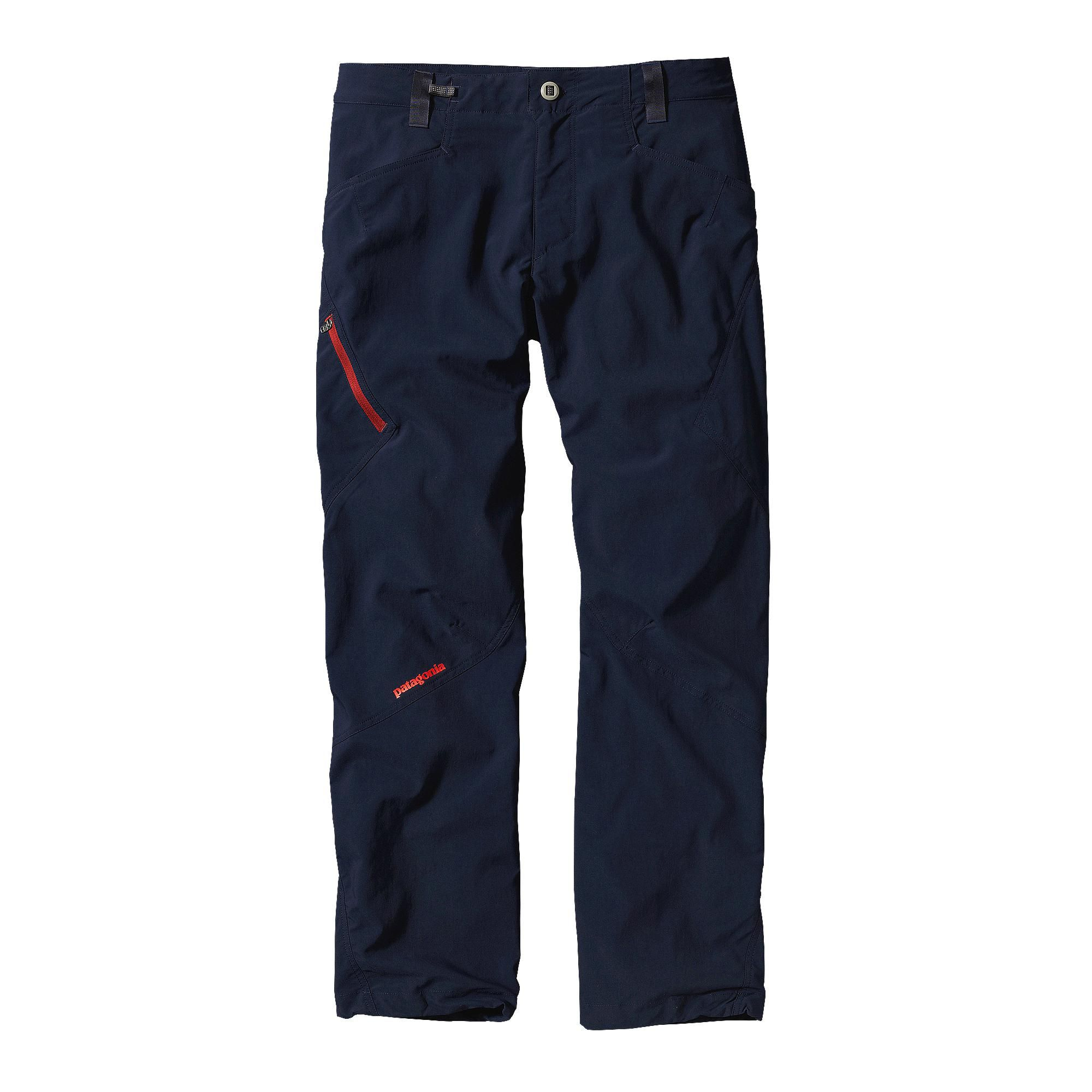 For unrestricted movement on technical routes, the Patagonia Men's RPS Rock  Pants answer back.