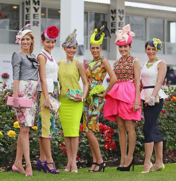 Fashion at the Races Horse Racing Fashion Style Millinery 72