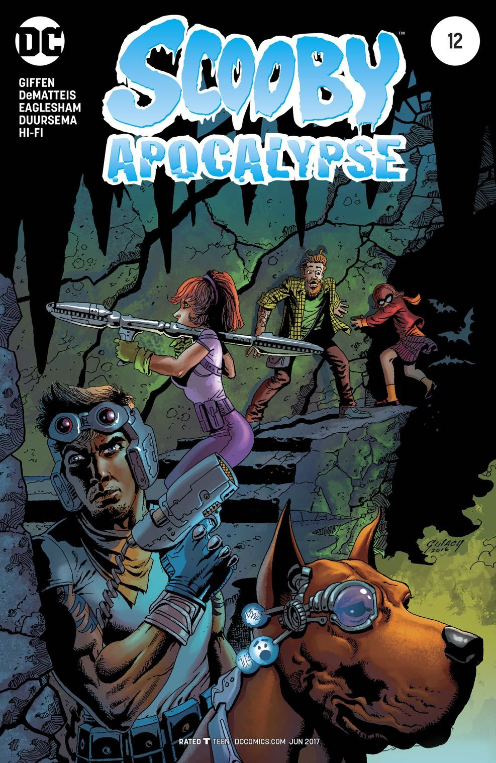 Image result for scooby doo apocalypse cover