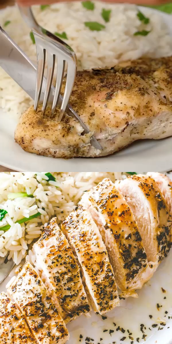 Photo of HOW TO MAKE tender and juicy BAKED CHICKEN BREASTS each and every time! Super si…