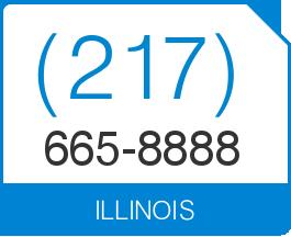 Illinois Area Code 217 Local Vanity Telephone Number (217) 665 8888