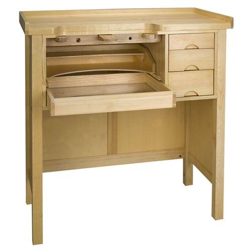 Enclosed Solid Wood Workbench Workbench Furniture Folding Workbench