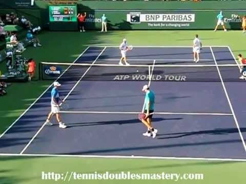Tennis Doubles Return Of Serve Against Serve Volley Tennis Doubles Tennis Tennis Drills