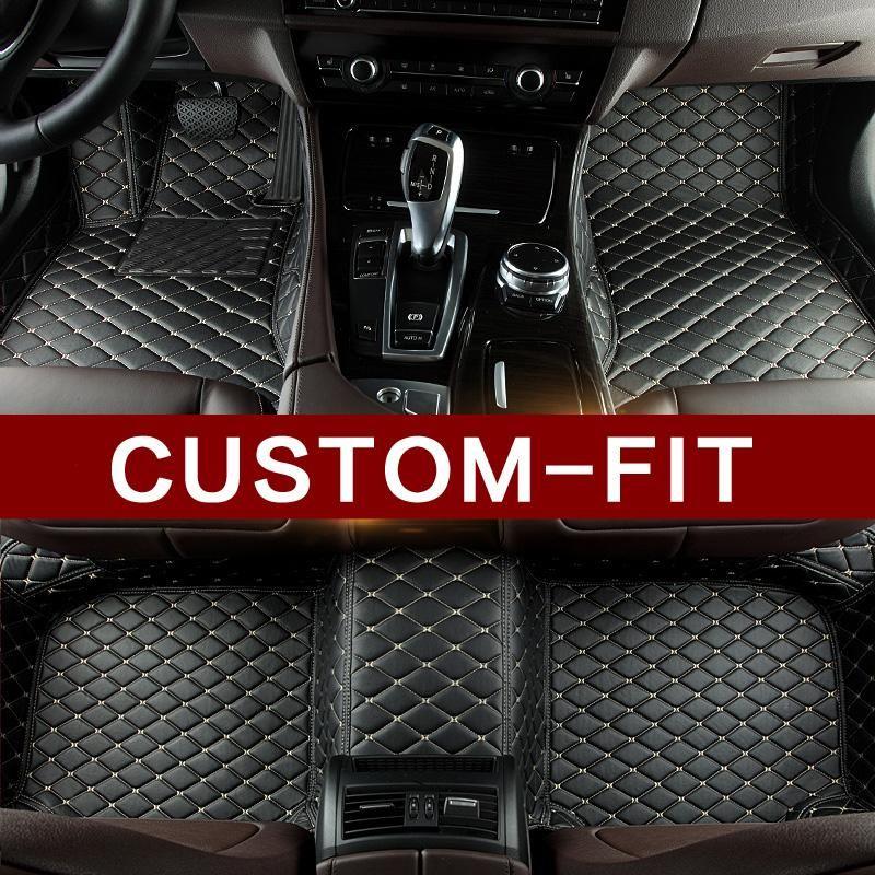 Custom Made Luxury Leather Car Mats We Manufacture Custom Made Leather Car Mats For Over 800 Car Models Using Pr Car Floor Mats Custom Car Floor Mats Car Mats