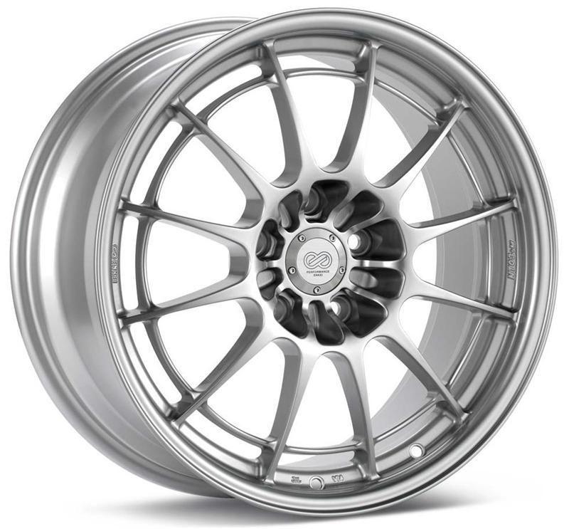 Enkei nt03m wheel 18x95 rim size 5x1143 bolt pattern