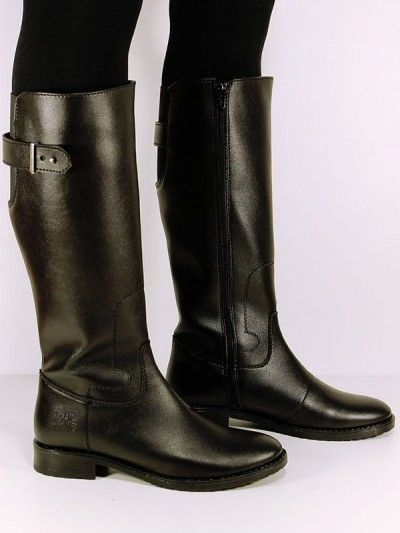 6923db8ca78 Wills- faux-leather vegan knee length boots | Want | Vegan shoes ...