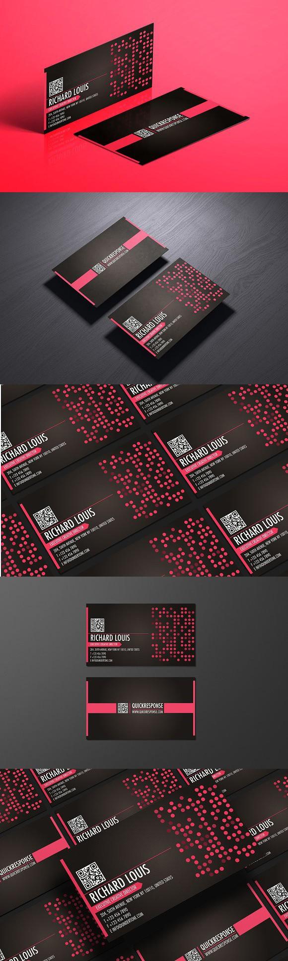 Hot pink business card design. Photoshop Textures | Photoshop ...