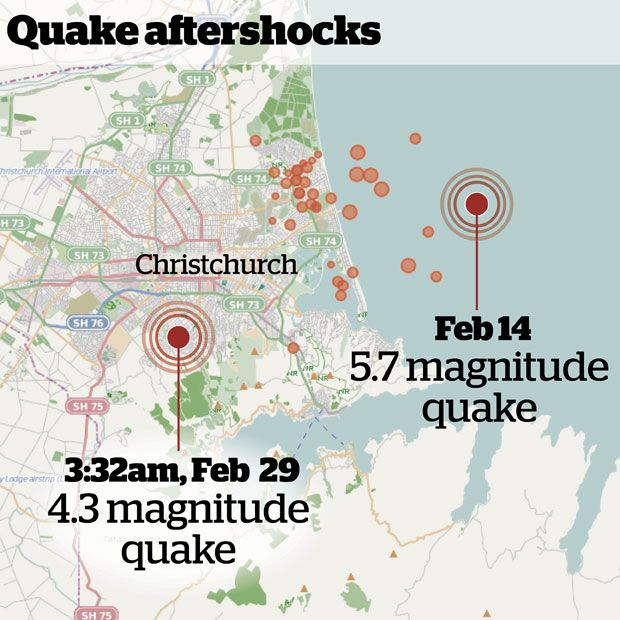 A strong earthquake has woken up most of Christchurch this morning. - New Zealand Herald