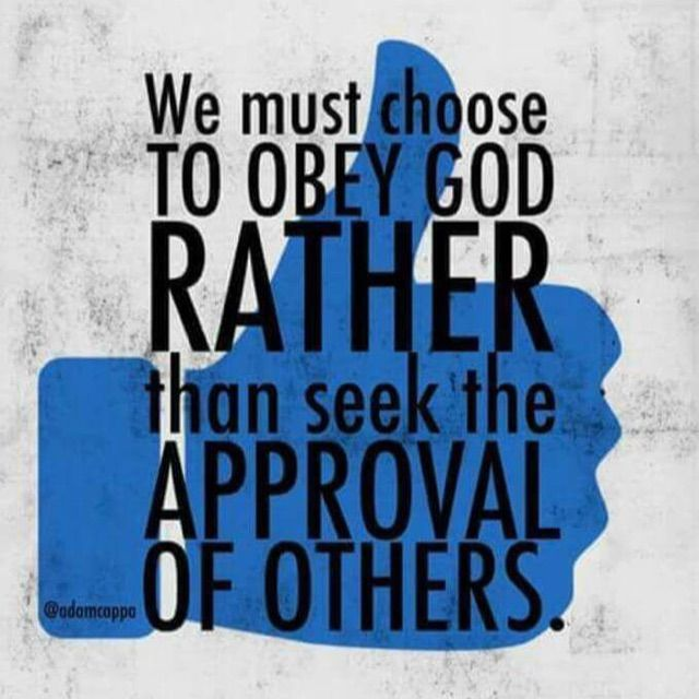 Galatians 1:10 For do I now persuade men, or God? or do I seek to please men? for if I yet pleased men, I should not be the servant of Christ.