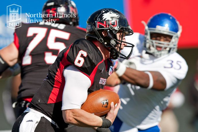 We Execute The Hard Way Wearehuskies Niu Football Helmets Northern Illinois University Sports
