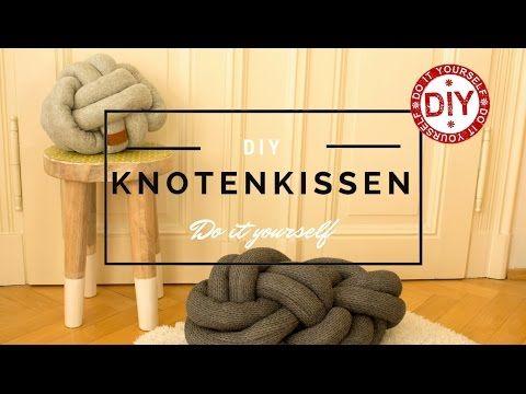 How To Knotenkissen Selber Nahen I Deko Inspirationen Homemade By Patricia Mrs Shabby Chic Youtube Knoten Kissen Selber Nahen Kissen