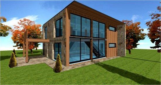 rsultat de recherche dimages pour maison en bois moderne pas cher - Extension De Maison Pas Cher