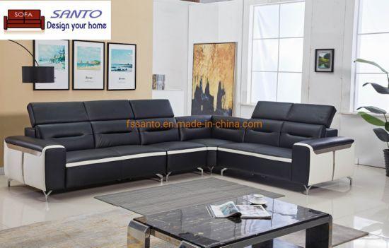 Contemporary Black And White Leather Sofa Set The Contemporary Black And White Living Room Sofa Set Combine A C White Sofa Set Sofa Set White Leather Sofa Set