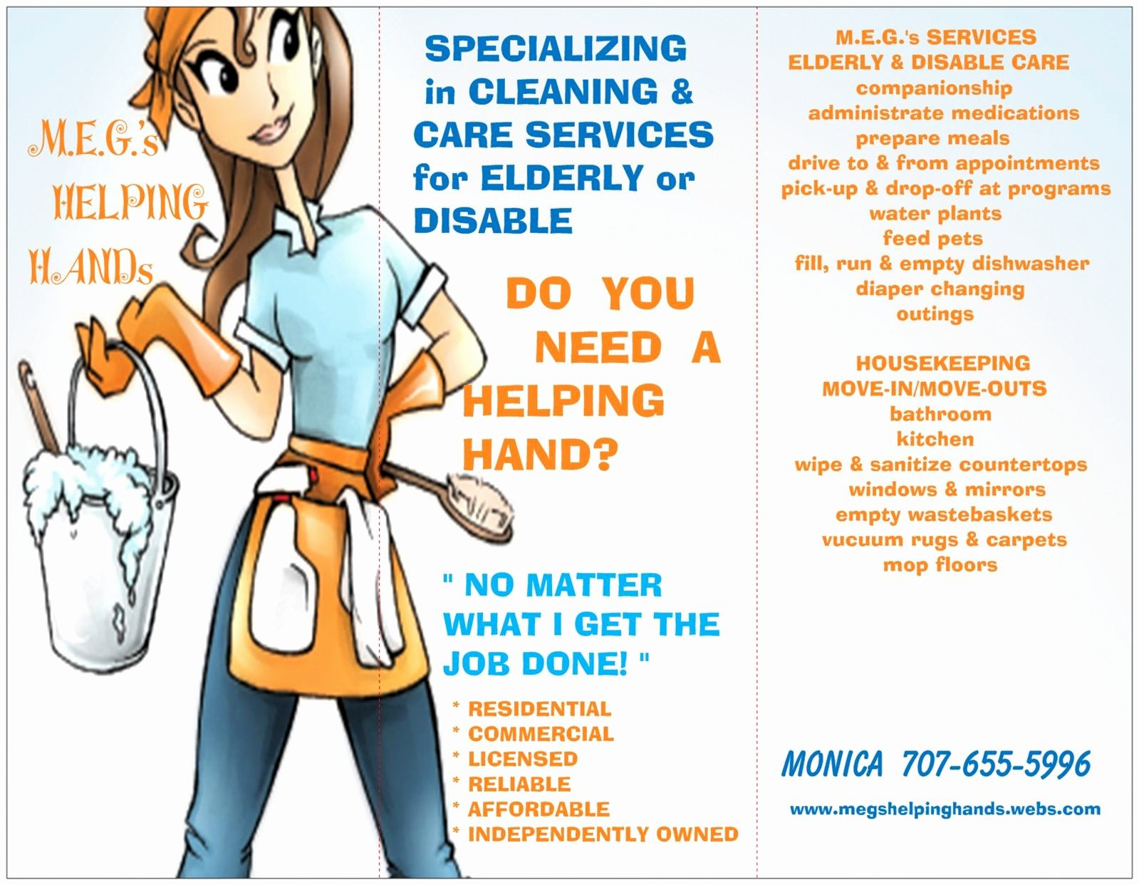 cleaning brochure templates lovely house cleaning flyer