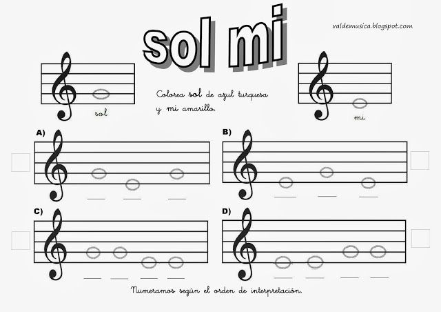 Valdemúsica Aprendo Las Notas Jugando Music Worksheets Learn Music Music Writing