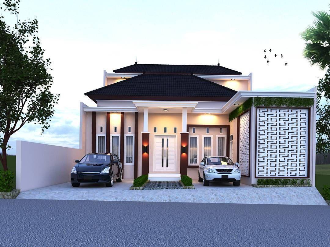 Desain Rumah Leter L 3 Kamar