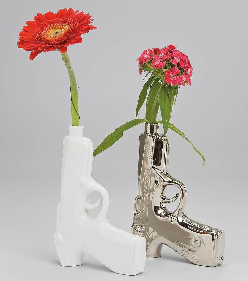 Gun Vase By I Love Retro Notonthehighstreet House