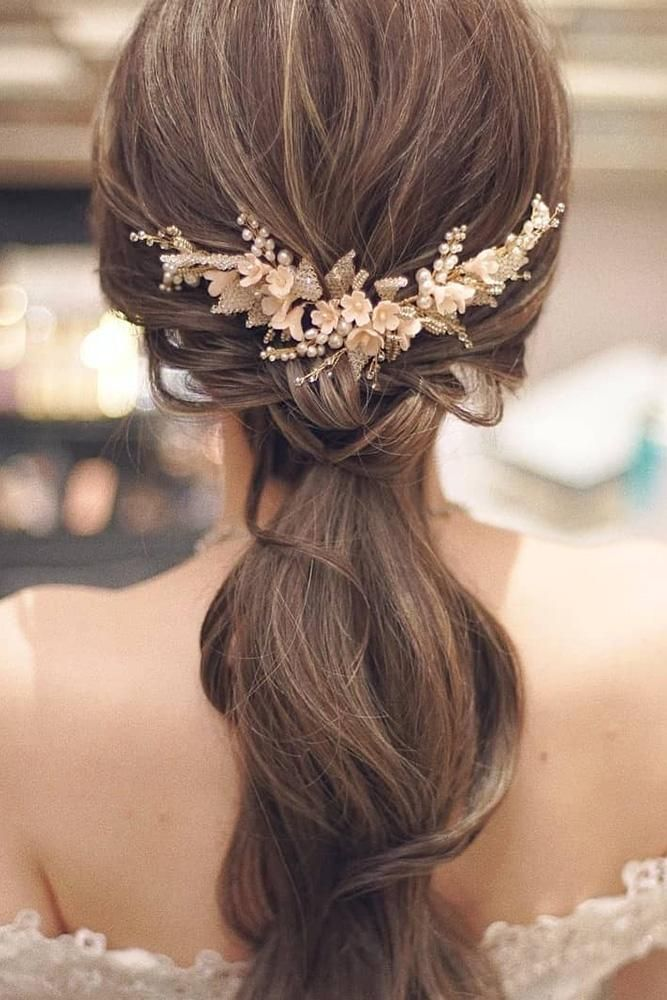 37 Modern Pony Tail Hairstyles Ideas For Wedding Wedding Forward Pony Hairstyles Tail Hairstyle Hairdo Wedding