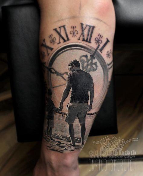 Fotos De Tatuagem De Pai E Filha: Pin Do(a) Marco Gomes Em Tatuagens