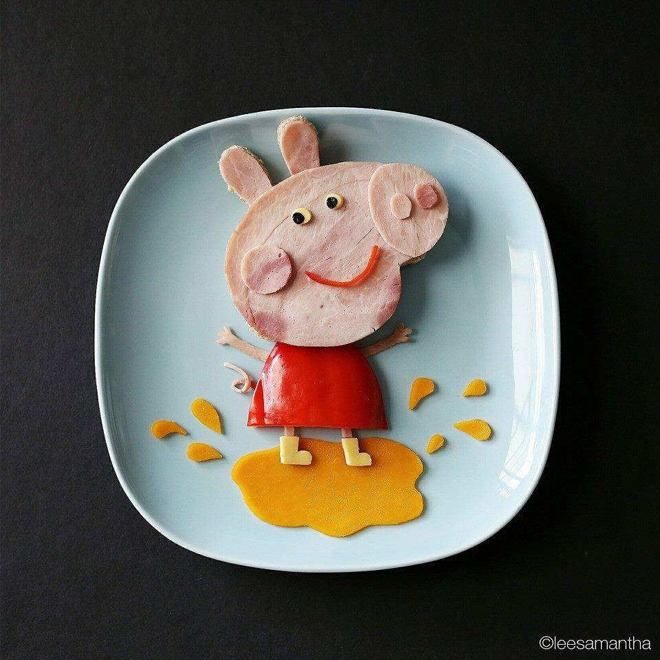 Amor de madre: ¡hacer arte con la comida! | Amor de madre, Hacer ...