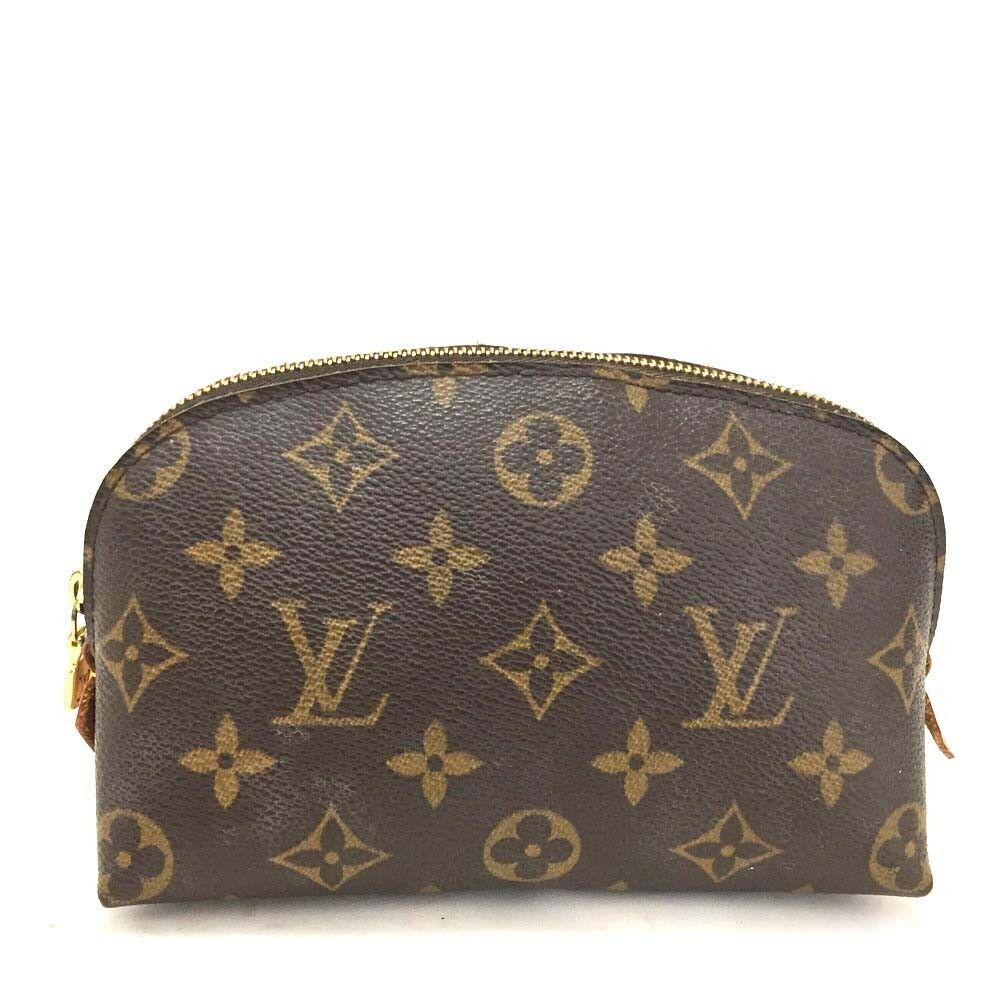 100 Authentic Louis Vuitton Monogram Pochette Cosmetic Pouch D609 Fashion Clothing Shoes Acce Louis Vuitton Cosmetic Pouch Louis Vuitton Monogram Handbag