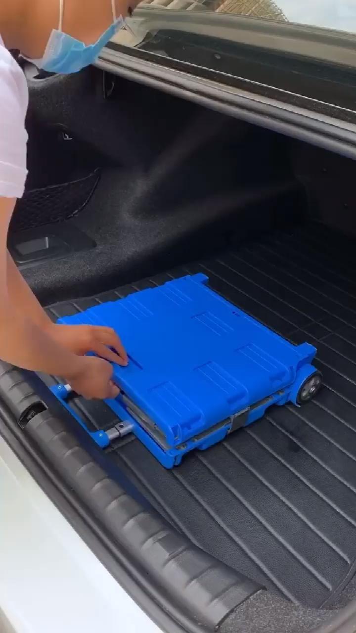 Amazon.co.uk: Depot Mobile Folding Cart With Lid