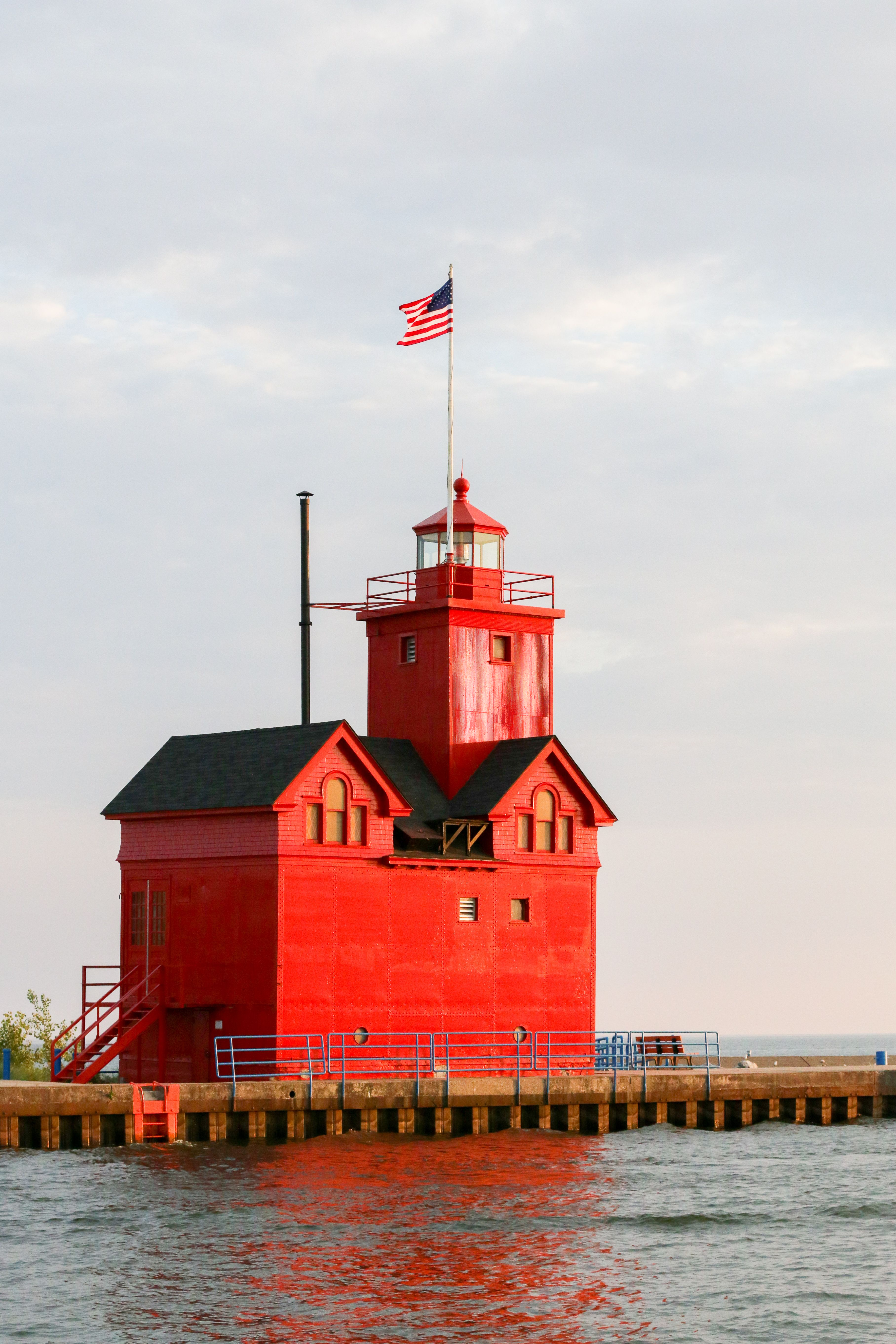 Did You Know Big Red Is One Of Michigan S Most Photographed