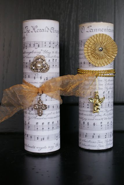 Charm Bracelet Diva {at Home}: Pottery Barn-inspired Christmas Candles Plus Bling