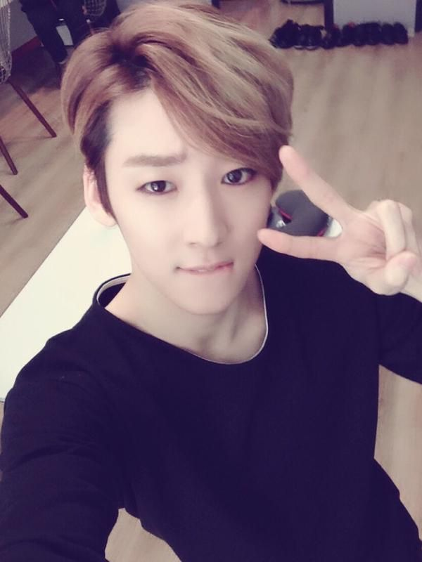 Kevin oppa twitter upd...