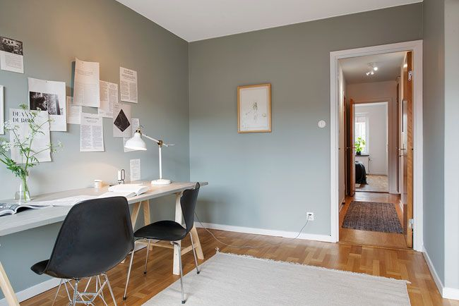 Maison à Vendre Décoration Scandinave Bureau Gris Bureau Et Gris - Decor de chambre boheme a vendre