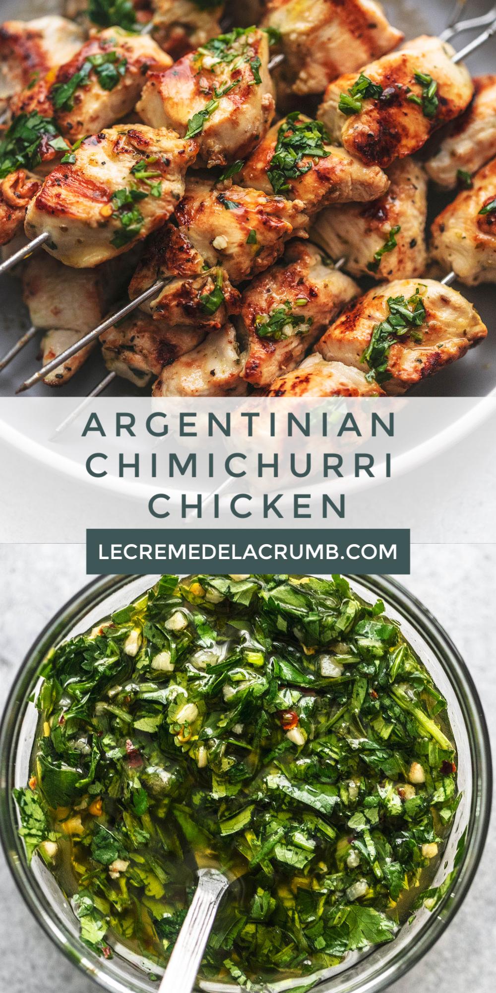 Argentinian Chimichurri Chicken