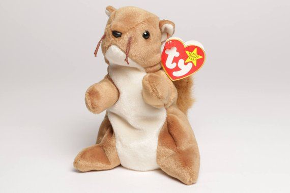 d2534c46a78 Nuts 1996 Original TY Beanie Baby RARE MINT