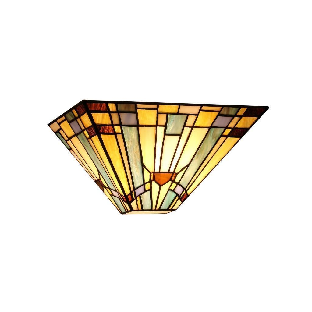 Chloe Tiffany Style Mission Design 1-light Wall Sconce - 16562870 ...