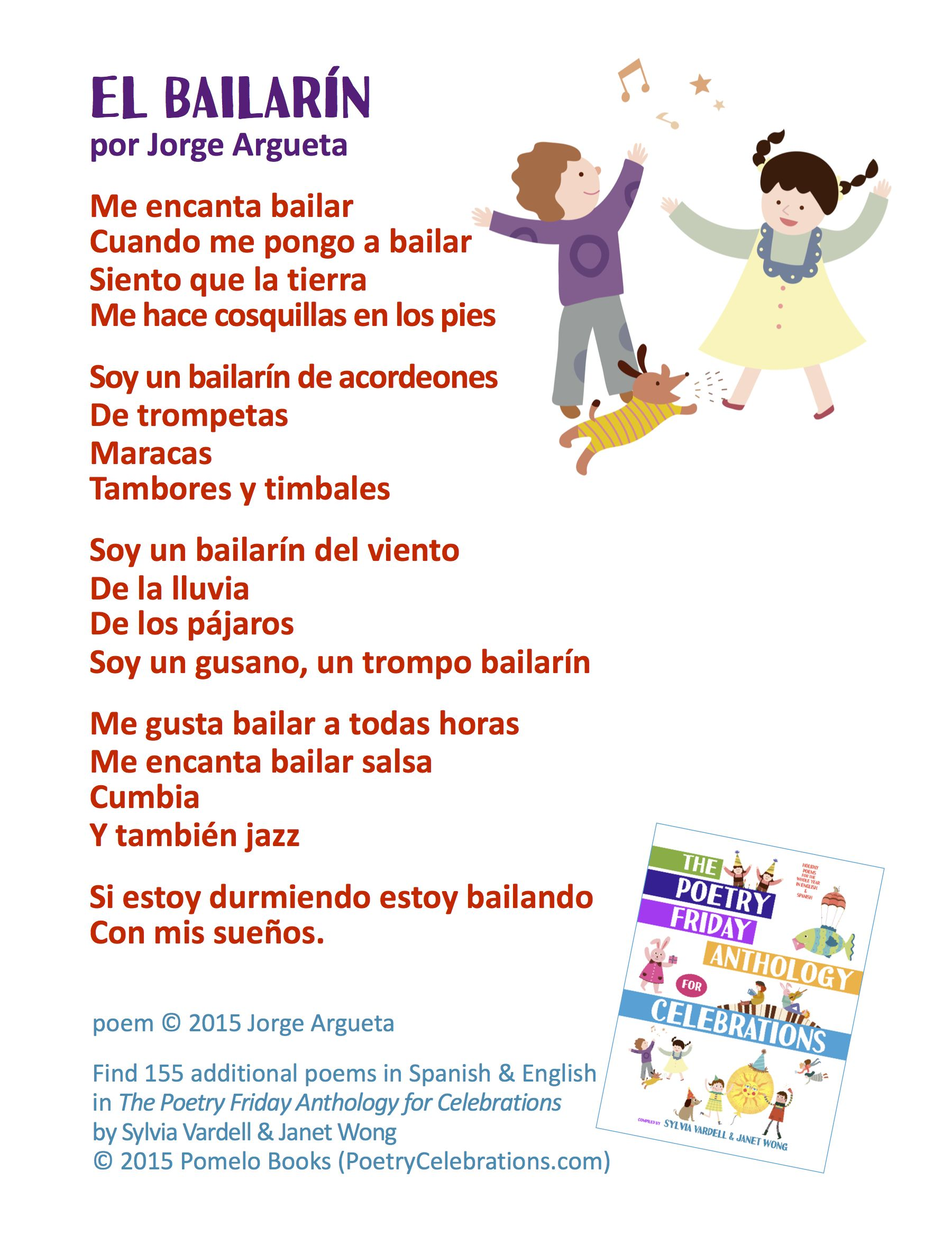Spanish Poems for Kids The Poetry Friday Anthology for