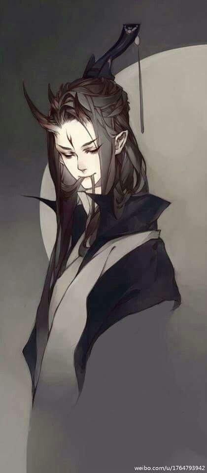 Anime Characters Long Brown Hair : Anime boy with long brown hair pinterest