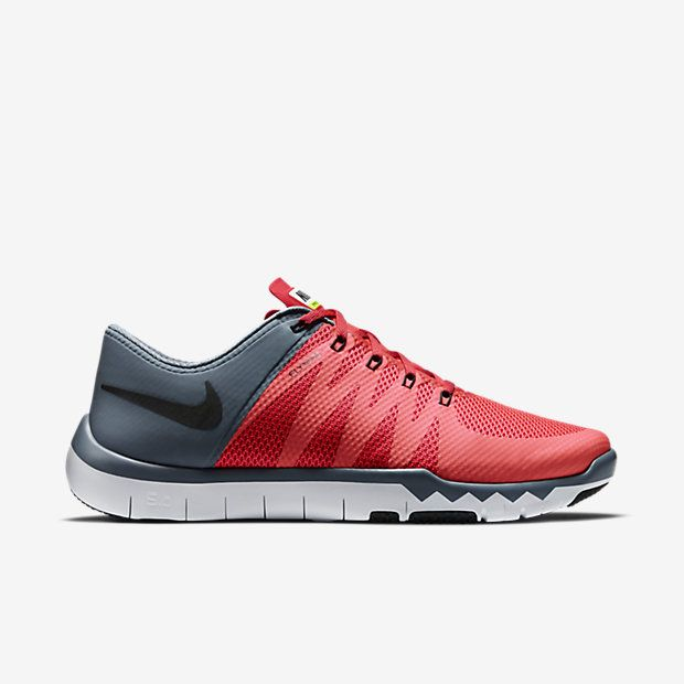 Nike Free Trainer 5.0 V6 Men's Training Shoe hexagonal flex grooves and rubber pods in high-wear areas for an incredibly natural feel and durability