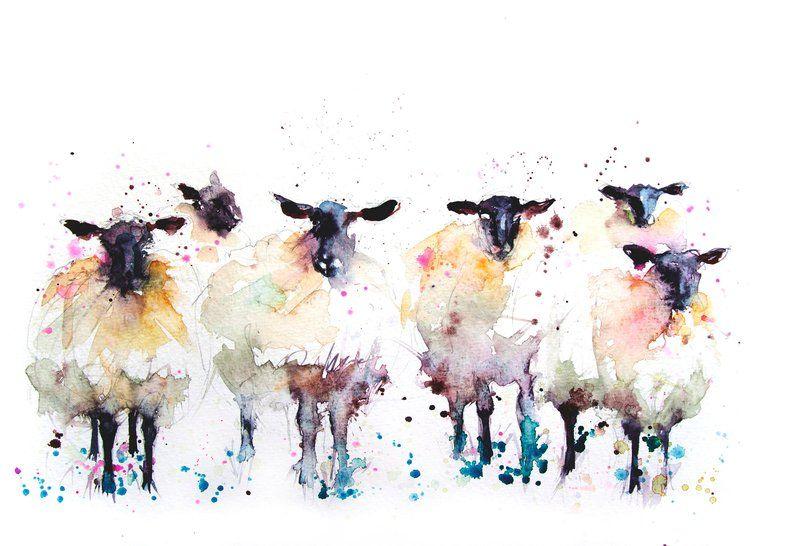 Tirage Limite De Mon Mouton 1315wall Art La Decoration La Creche