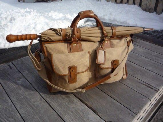 Classic Vintage Marley Hodgson Ghurka The Express Bag  No. 2