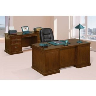 Statesman Executive Desk And Credenza Set Nbf Signature Series Statesman Collection Executive Desk Desk Indoor Air Quality