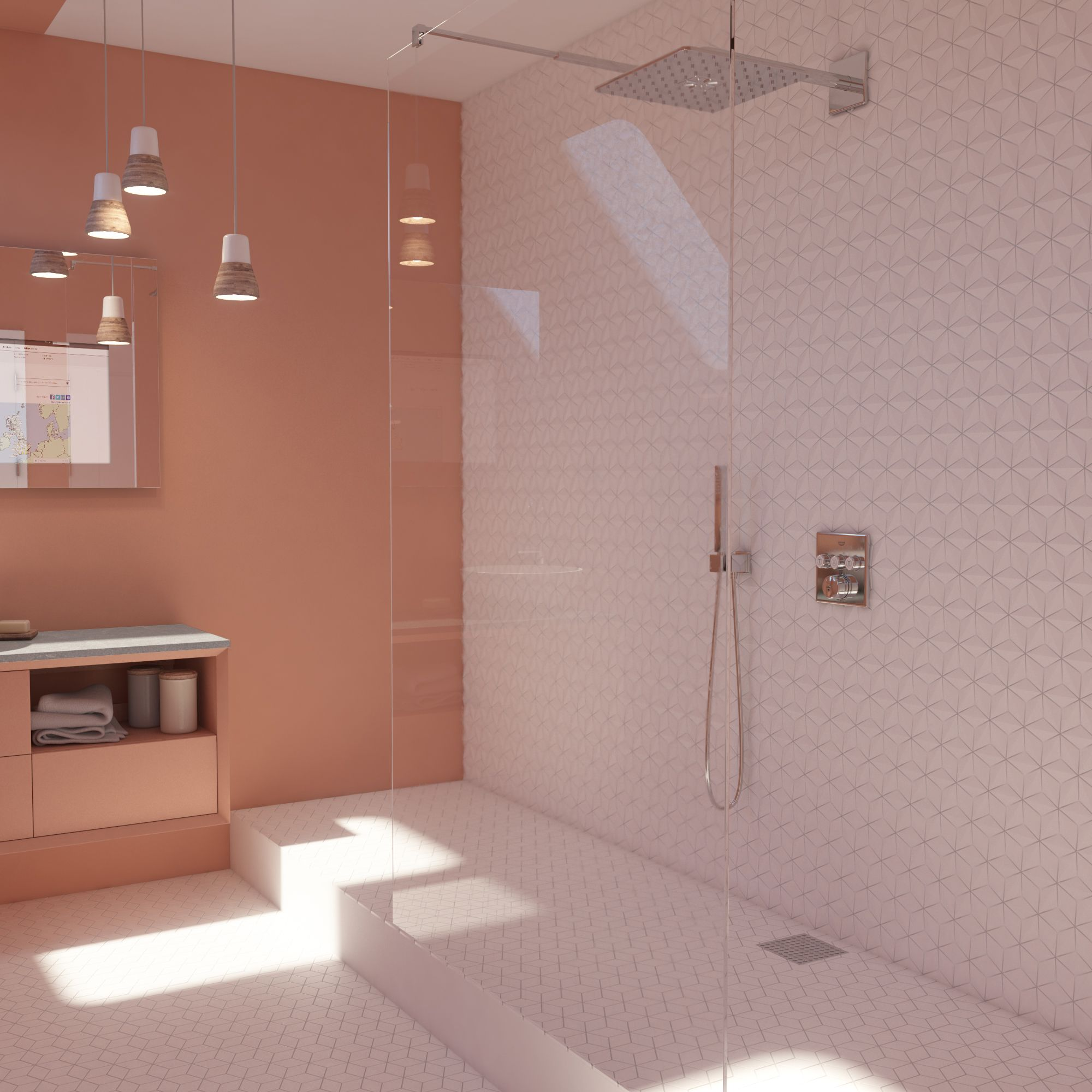 Inspired By The Sweetness Of Sherbet, Our Sherbet Spaceship Room