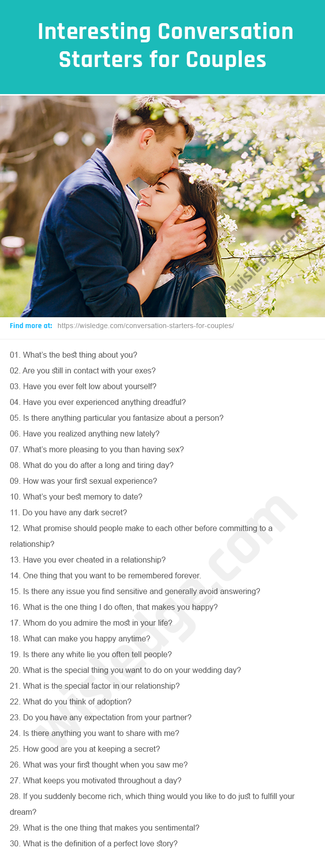 Conversation Starters for Couples | Conversation starters