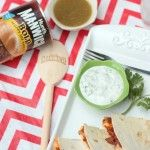 Sloppy Quesadillas {and a Manwich giveaway}