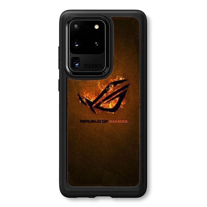 Republic Of Gamers Log Rog Samsung Galaxy S20 Ultra Case