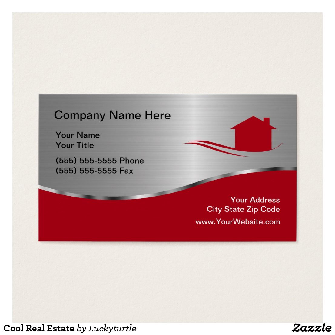 Cool Real Estate Business Card | Real estate business