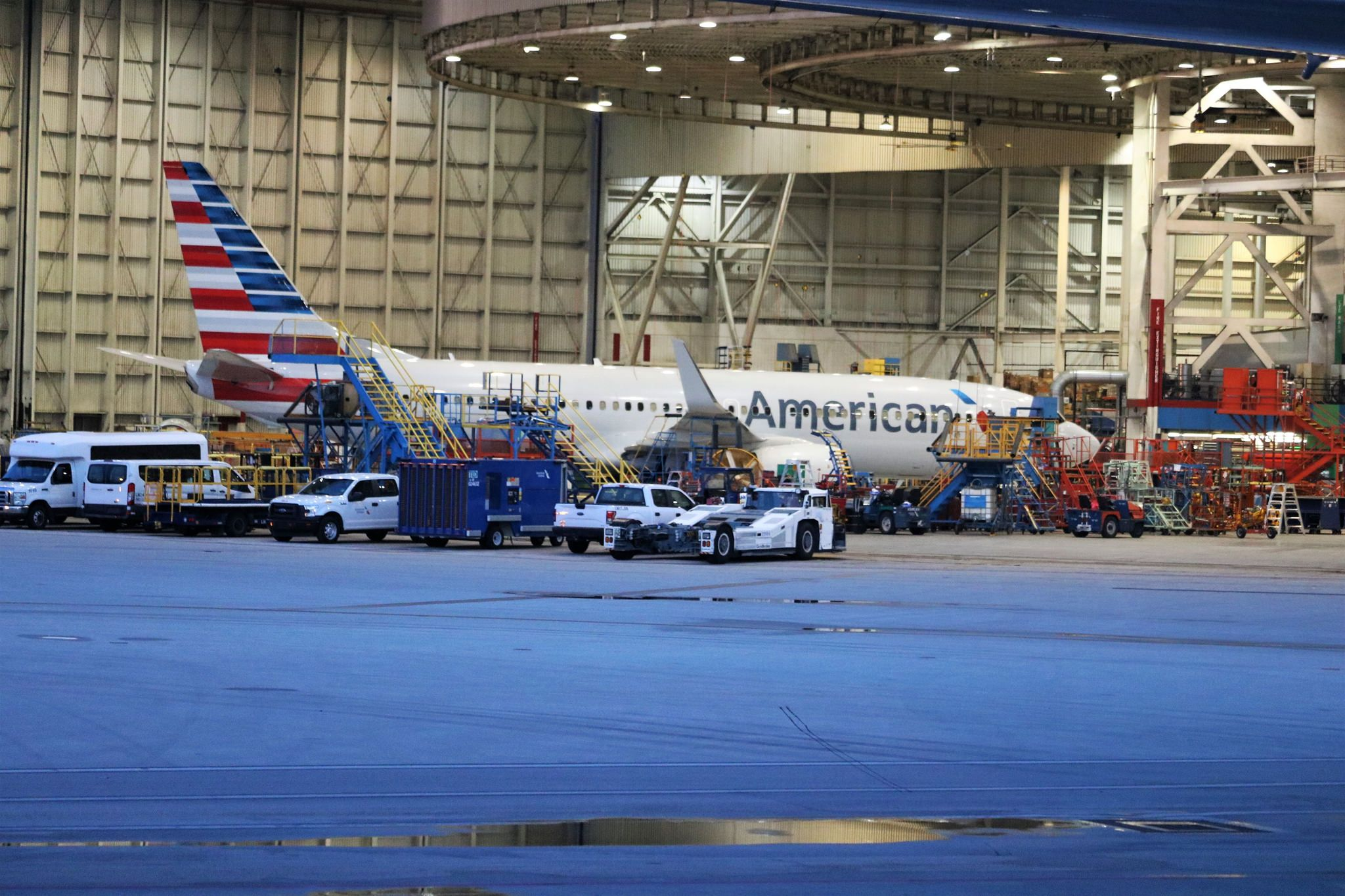American Airlines Hangar. Miami International Airport