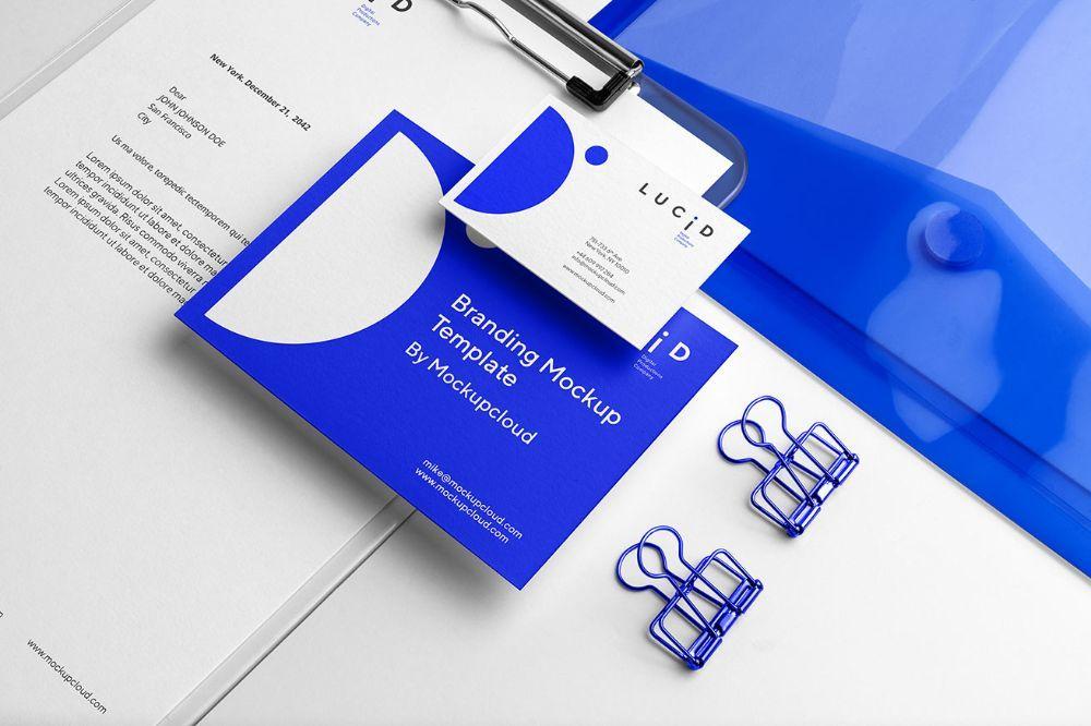 Mockup Graphic Design Design Corporate Identity In 2020 Branding Mockups Branding Stationery Branding