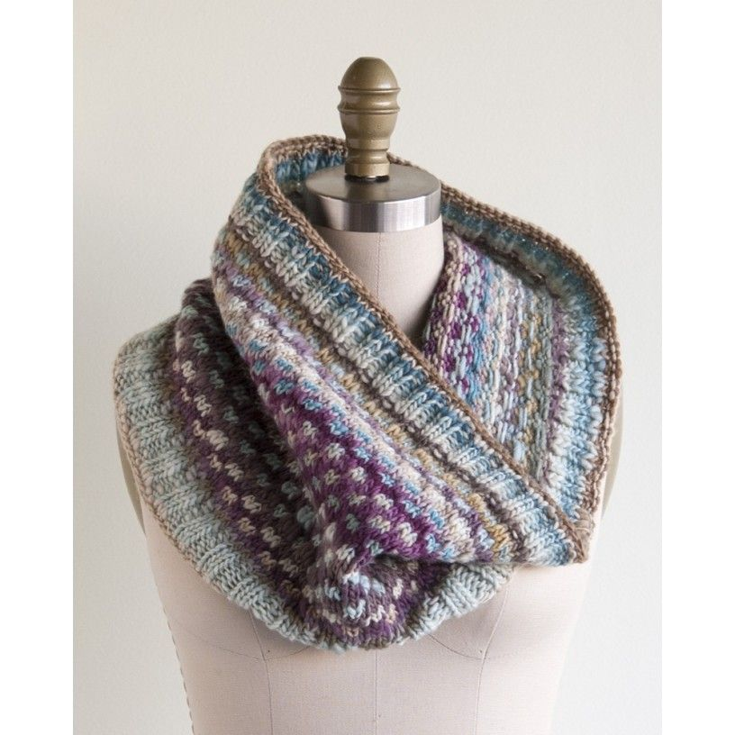 Spincycle Yarns The Cara Cowl Kit How to purl knit, Yarn