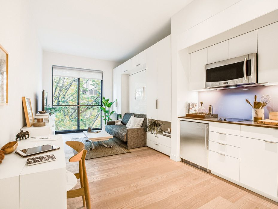 New York\'s first micro-apartments are all under 360 sq feet, but ...