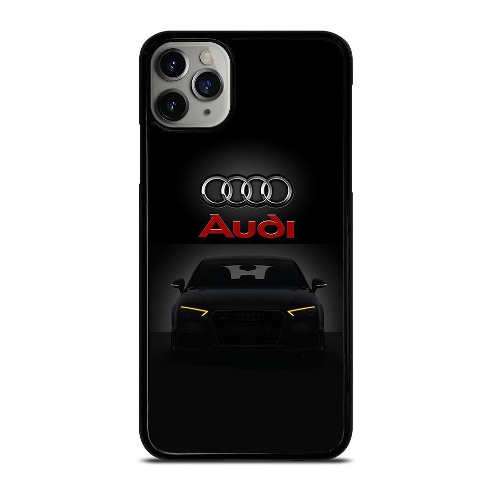 Audi car logo iphone 11 pro max case cover di 2020