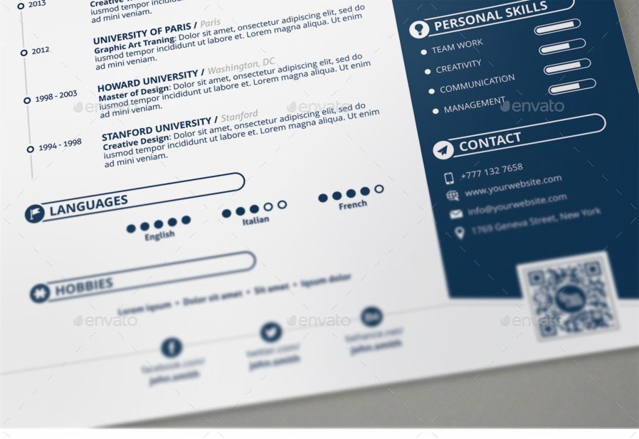 Cv Resume Set Ad Cv Affiliate Resume Set